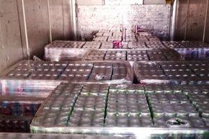 В Керчь не пустили 40 тонн контрабандного алкоголя
