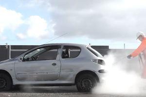 Видеошок: как уничтожить машину на автомойке