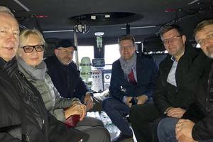 Посол и омбудсмен Литвы приехали на Донбасс