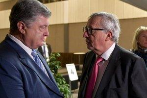 Порошенко встретился с Юнкером и Пленковичем: стали известны детали разговора