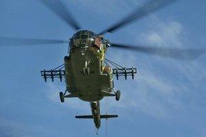 Крушение вертолета в Твери: пилот погиб