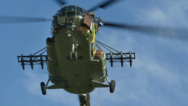 ВТверской области вертолет сгазовщиками совершил жесткую посадку