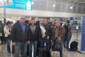 Еще трое моряков судна Меконг Спирит вернулись в Украину