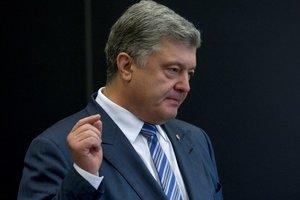 Порошенко поблагодарил США за расширение санкций против России