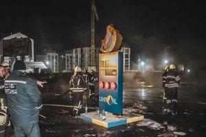 Под Киевом произошел масштабный пожар: пылала АЗС