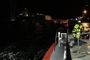 Стала известна причина столкновения норвежского фрегата с танкером