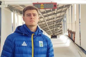 Впервые в истории украинский скелетонист завоевал золотую медаль на международных соревнованиях