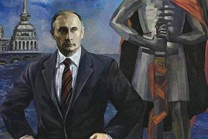 Смахивает на идиотизм: портреты Путина и Медведева рассмешили сеть