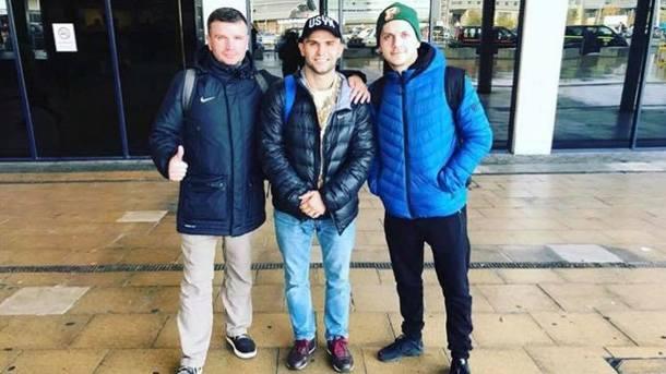 Дмитрий Митрофанов уже в Манчестере. Фото Facebook