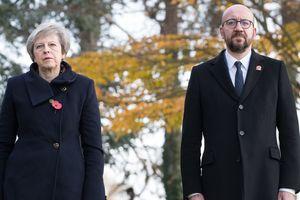 Кортеж премьеров Великобритании и Бельгии попал в ДТП
