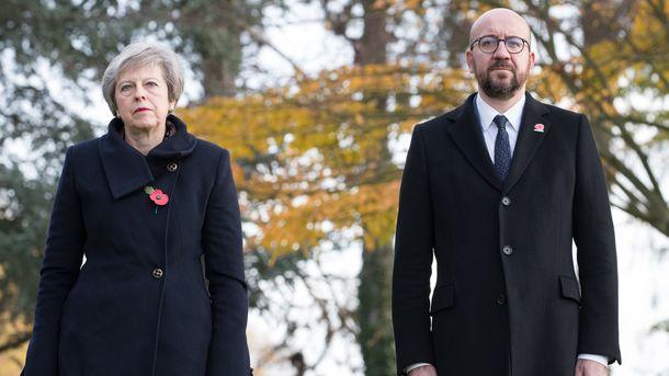 Премьеры Великобритании и Бельгии. Фото: AFP