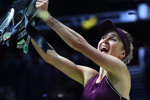 Элина Свитолина стала лучшей теннисисткой месяца в мире