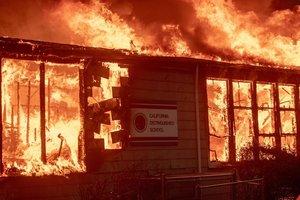 Лесные пожары в Калифорнии: погибли девять человек
