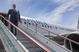 Порошенко отправился с визитом во Францию