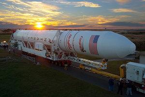 NASA готовит очередной запуск к МКС грузовой ракеты Antares, созданной в Украине