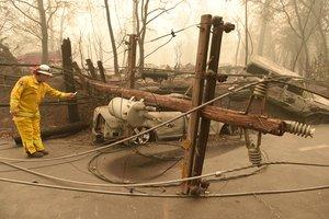 Лесные пожары в Калифорнии: число жертв увеличилось до 25, появились фото и видео