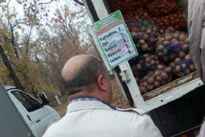 """Жители Донецка пришли на """"выборы"""" ради беспроигрышных лотерей и дешевых продуктов"""