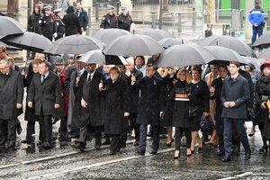 Мировые лидеры прибыли в столицу Франции