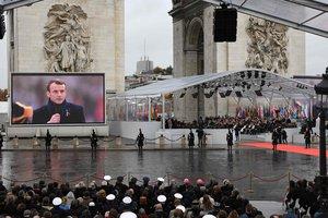 Церемония к 100-летию окончания Первой мировой войны: онлайн видео
