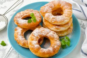 Как приготовить самые вкусные пончики из творожного теста