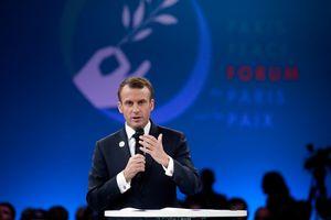 Макрон открыл Парижский международный форум мира