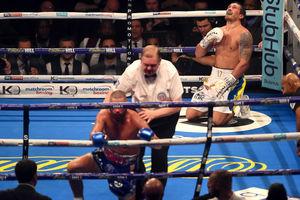 После боя Усик - Беллью возле ринга произошла драка