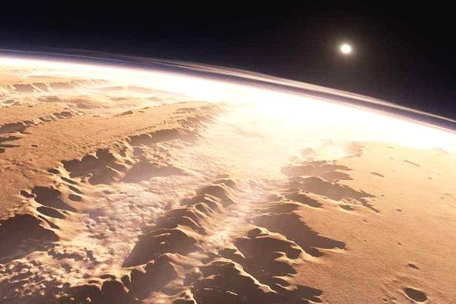 Ученые превратили фото рассвета наМарсе вмелодию