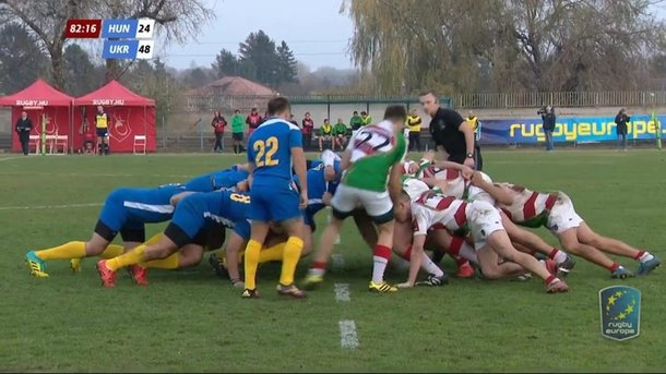 Rugby players in Yaroslavl extracted another victory for the Ukrainian team