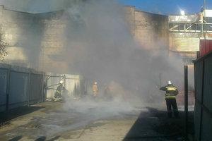 Мощный пожар в России: крупный завод вспыхнул, как спичка