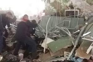 В Минске на посетителей торгового центра рухнул потолок