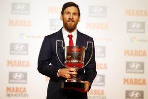 Месси получил приз лучшему игроку чемпионата Испании