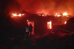 В доме под Киевом заживо сгорел мужчина