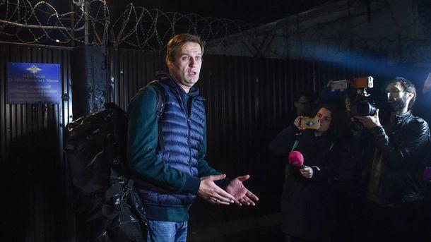 Навальный сообщил, что ему запретили выезд из России