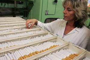 Акции табачных компаний рухнули из-за возможного запрета сигарет с ментолом