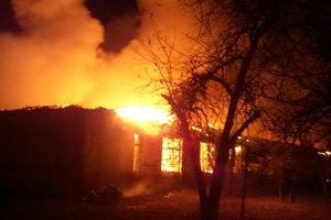Сильный огонь на большой площади: ночью в Харькове вспыхнул пожар, опубликованы фото