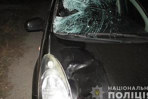 В Запорожской области водитель Nissan насмерть сбил пешехода