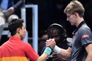 Андерсон уничтожил Нисикори на Итоговом турнире ATP