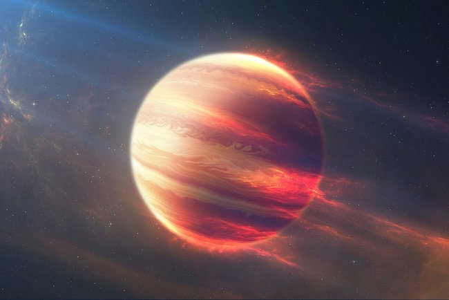 For the first time, such a planet could be seen live. Photo: Akspic