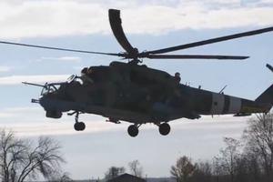 Вертолеты и самолеты ВСУ уничтожили все цели: появилось видео учений