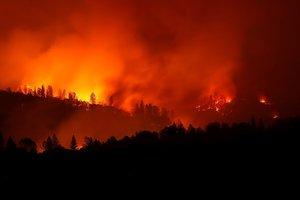 Число жертв пожаров в Калифорнии продолжает расти: уже 50 погибших