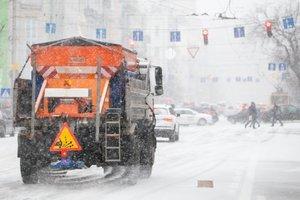 Десятки аварий и пробки в 9 баллов: последствия снегопада в Киеве