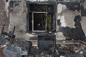 Во время страшного пожара погибли двое жителей Ровенской области