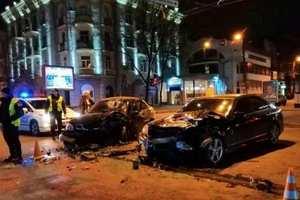 В Харькове на Сумской снова произошло ДТП: ранены три человека