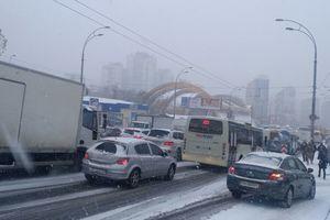 Снегопад в Киеве превратился в дождь, под вечер все будет покрыто льдом