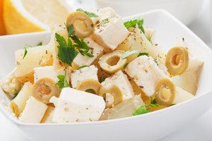 Как приготовить картофельный салат в греческом стиле