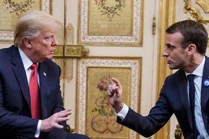 Макрон заявил, что быть союзником США не значит быть их вассалом