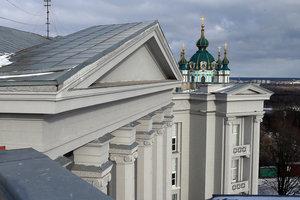 Неизвестные утром пытались поджечь Андреевскую церковь – СМИ
