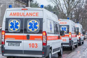 В Украине три месяца простаивают 50 машин скорой помощи, подаренные Китаем