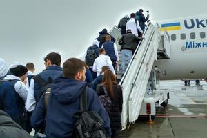 Фанаты не дали Шеве поработать: как сборная Украины улетала на последний матч Лиги наций