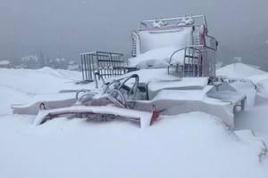 Зимний сезон открыт: Карпаты засыпает снегом